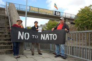 haverfordwest says no nato