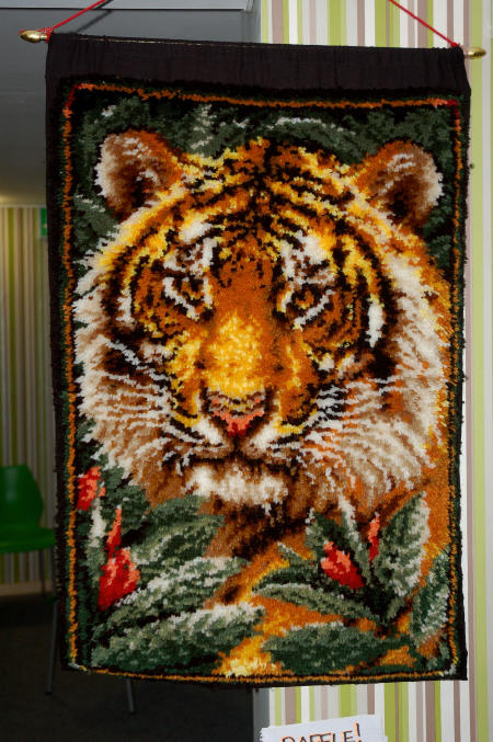 46sm tiger wall hanging