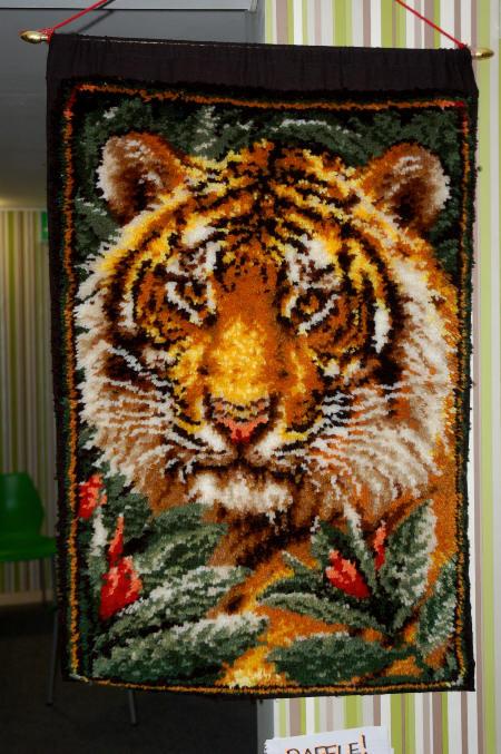 46sm tiger wall hanging
