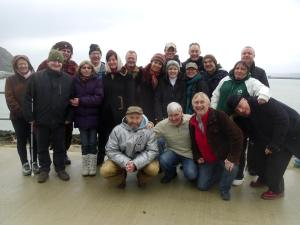 A01 group photo at fishguard