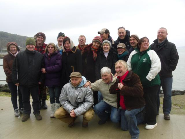 A02 group photo at fishguard